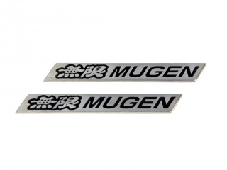 "Badges(plates) ""MUGEN Style"" for Spoiler (2 pcs.)"