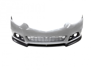 Front Pad(Lip, Skirts, Splitter) under original Modulo Bumper for Honda Accord 8 (VIII) / Acura TSX (CU2) (2008-2013)