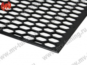 Plastic Mesh from ABS Plastic var №1 Honeycombs Style