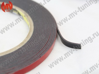 "Double Side Tape ""3М"" (6mm  х 5meters) (acrylic double-sided adhesive tape) (packing 130 * 130 * 6mm)"