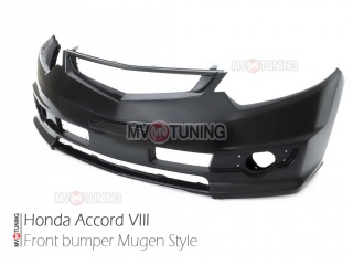 Front Bumper Mugen Style for Honda Accord VIII 8 / Acura TSX 2008-2014
