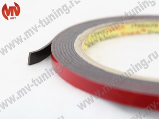 "Double Side Tape ""3М"" (6mm х 2meters) (acrylic double-sided adhesive tape) (packing 105*105*6mm)"