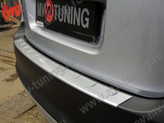Protetective pad on rear bumper Skoda Yeti (2009-2012) for painting
