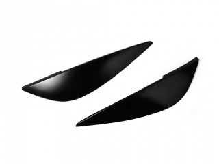 Rear Eyelids Eyebrows Lights Covers for Astra H GTC 3 Door