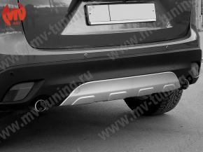 Rear Diffuser(Pad) for Bumper, Protect Cover(pad) for Mazda CX5 (KE)