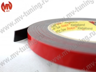 "Double Side Tape ""3М"" (12mm х 5meters) (acrylic double-sided adhesive tape) (packing 130*130*12mm)"